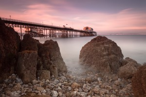 Mumbles pier by Leighton Collins