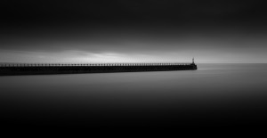 East pier Swansea by Leighton Collins