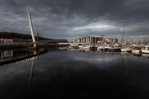 Swansea marina SA1 by Leighton Collins