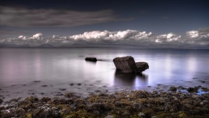 Kye Bay Vancouver island by Leighton Collins