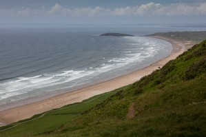 Rhossili Bay and Bury Holms by Leighton Collins