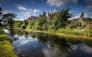 Neath Abbey ruins by Leighton Collins