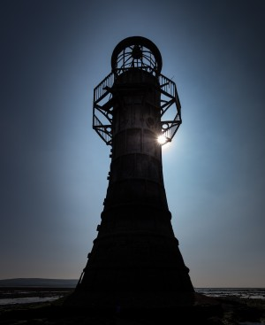 Whiteford lighthouse North Gower by Leighton Collins