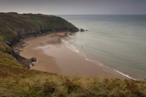 Blue pool Bay Gower by Leighton Collins