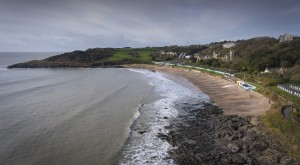 Langland Bay in Swansea UK by Leighton Collins