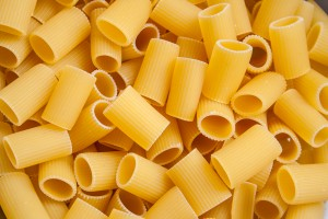 Dry pasta background  by Levente Bodo