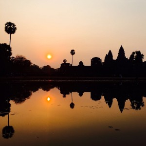 Angkor Wat Sun Rise by Leyre