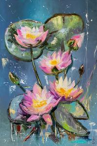 Water lilies by Liubov Kuptsova