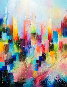 Downtown 1 by Liubov Kuptsova