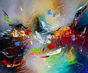 Wave of joy by Liubov Kuptsova