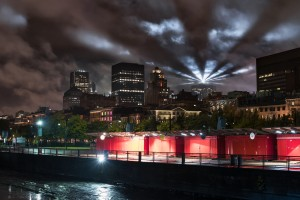 Montreal at night by Lrenz