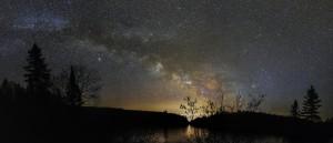 Quebec Milky Way by Lrenz