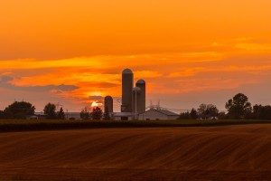 Quebec Awesome Sunset by Lrenz