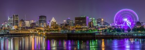 Montreal skyline by Lrenz