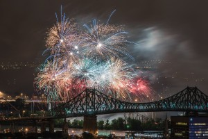 Montreal Fireworks Display by Lrenz
