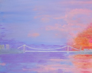 George Washington Bridge Sunrise by MJ Hoehn