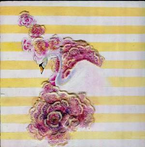 swan tissue by Madeleine Sibthorpe