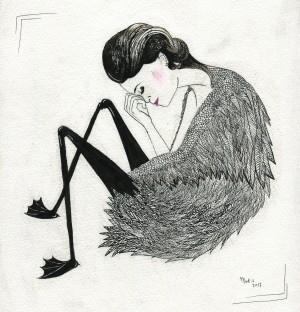 swan princess by Madeleine Sibthorpe