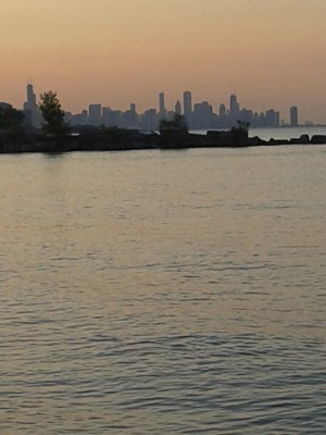 City Chic and Lake Mich by Marlo Mc Coy