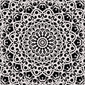 Tribal Mandala G385 by Medusa GraphicArt