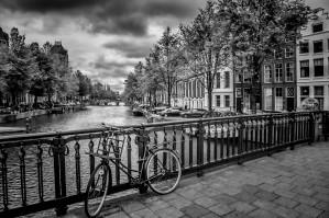 Emperor's Canal Amsterdam by Melanie Viola