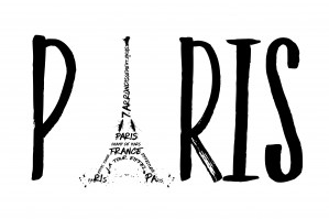 PARIS Typography by Melanie Viola