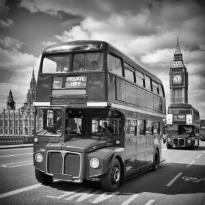 LONDON Classical Streetscene by Melanie Viola