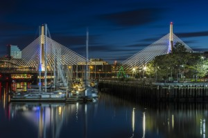 BOSTON Bunker Hill Bridge