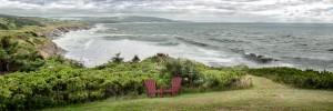 Chilling at Cap Lemoine