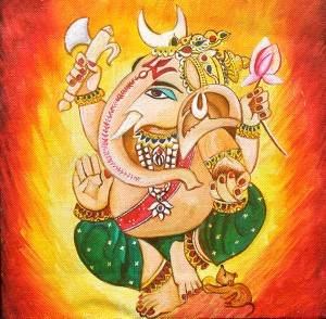 Lord Ganesha Ganpati by Mrs Neeraj Parswal