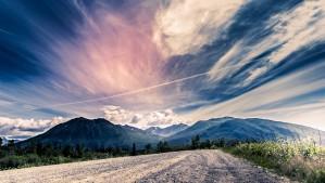 THE ALASKAN SKY by OPTIC CANVAS