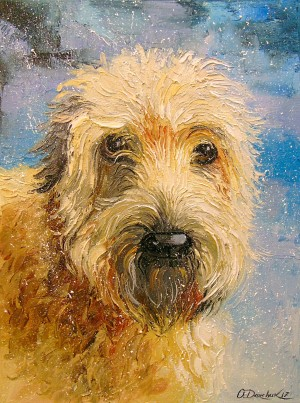 Terrier by Olha Darchuk