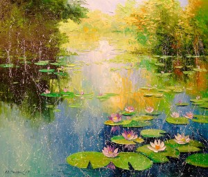 Pond by Olha Darchuk
