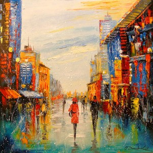 In the big city by Olha Darchuk