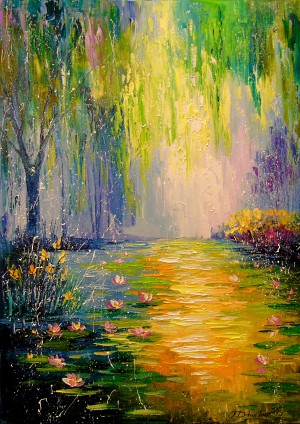 Fabulous pond by Olha Darchuk