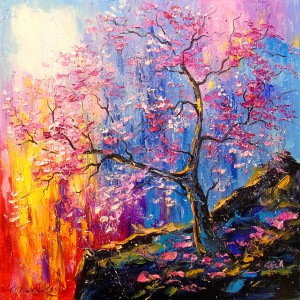 Cherry blossoms by Olha Darchuk
