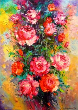 Roses by Olha Darchuk