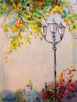 Lone lantern by Olha Darchuk