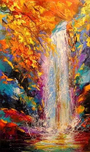 Waterfall by Olha Darchuk