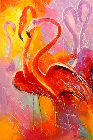 Flamingo by Olha Darchuk