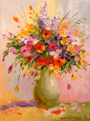 A bouquet of bright colors by Olha Darchuk