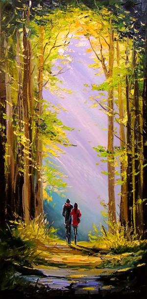 Walk for two by Olha Darchuk