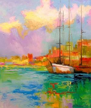 Rainbow morning by Olha Darchuk