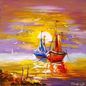 At anchor by Olha Darchuk