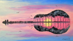 Guitar by Olha Darchuk