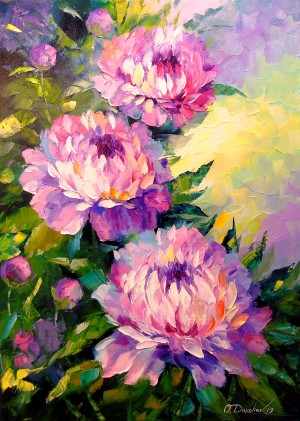 Peonies by Olha Darchuk