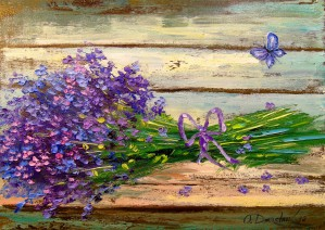 Bouquet of lavender by Olha Darchuk