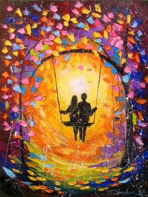 Romantic love by Olha Darchuk