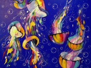 Jellyfish by Olha Darchuk