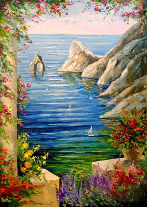 View of the rocks by Olha Darchuk